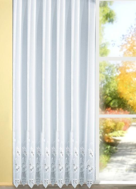 langstore mit plauener stickerei gardinen brigitte hachenburg. Black Bedroom Furniture Sets. Home Design Ideas