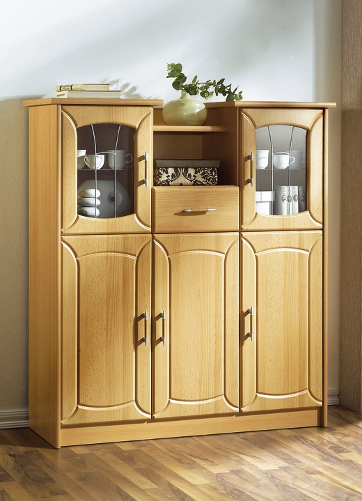 Vitrinen & Highboards - Highboard, in Farbe BUCHE