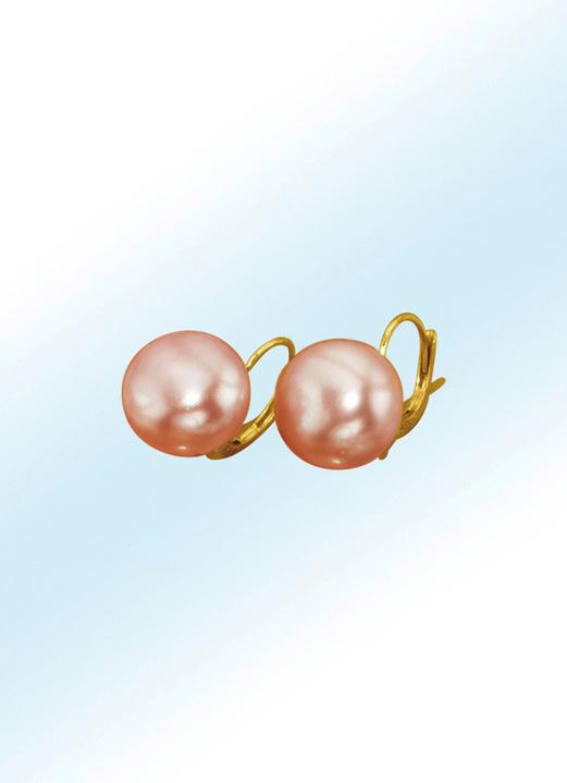 7d9602813191ca mit Perlen - Ohrringe mit Süßwasser-Zuchtperle