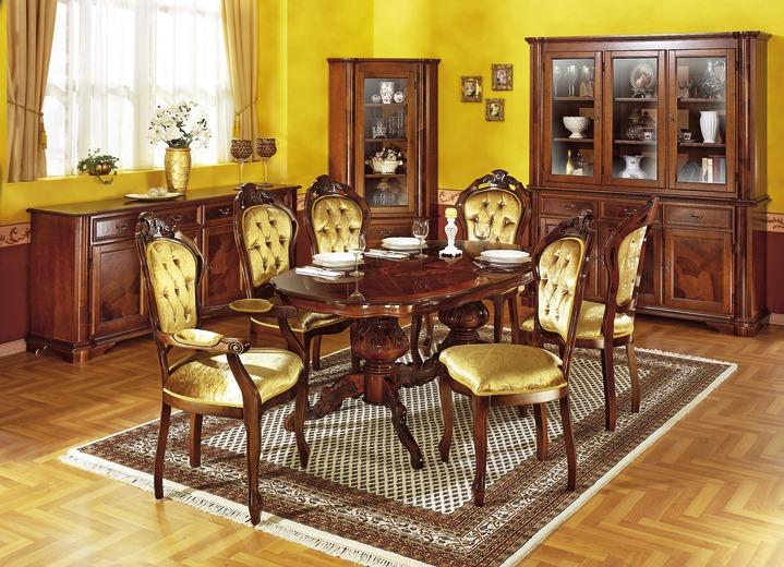 Esszimmer-Möbel Mit Wurzelholzfurnier, Verschiedene