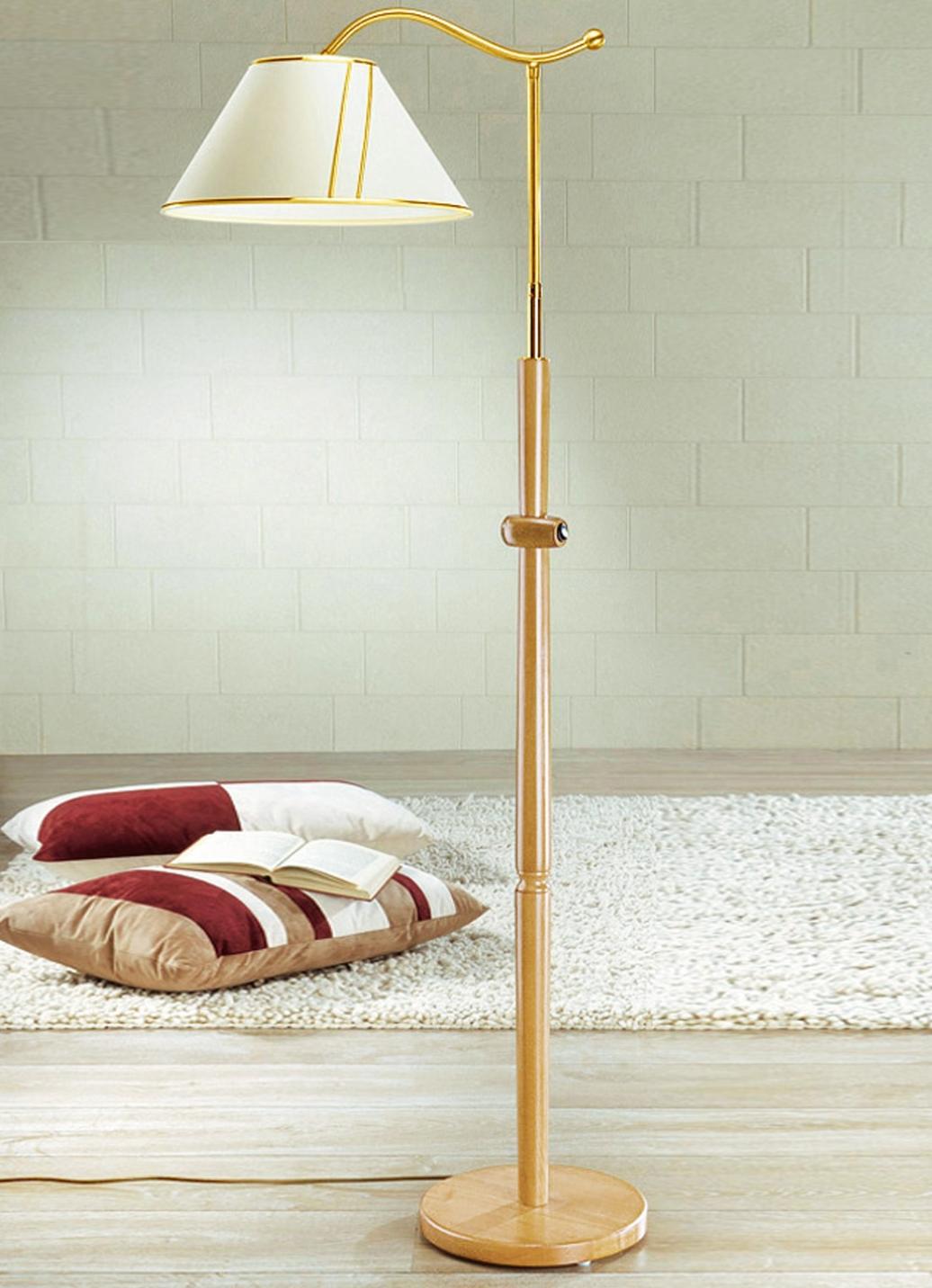 stehleuchte mit schwenkschirm verschiedene farben lampen leuchten brigitte hachenburg. Black Bedroom Furniture Sets. Home Design Ideas