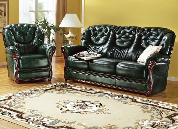 polsterm bel aus leder verschiedene ausf hrungen wohnzimmer brigitte hachenburg. Black Bedroom Furniture Sets. Home Design Ideas