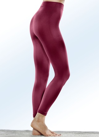 Zweierpack Thermo-Leggings innen weich angeraut