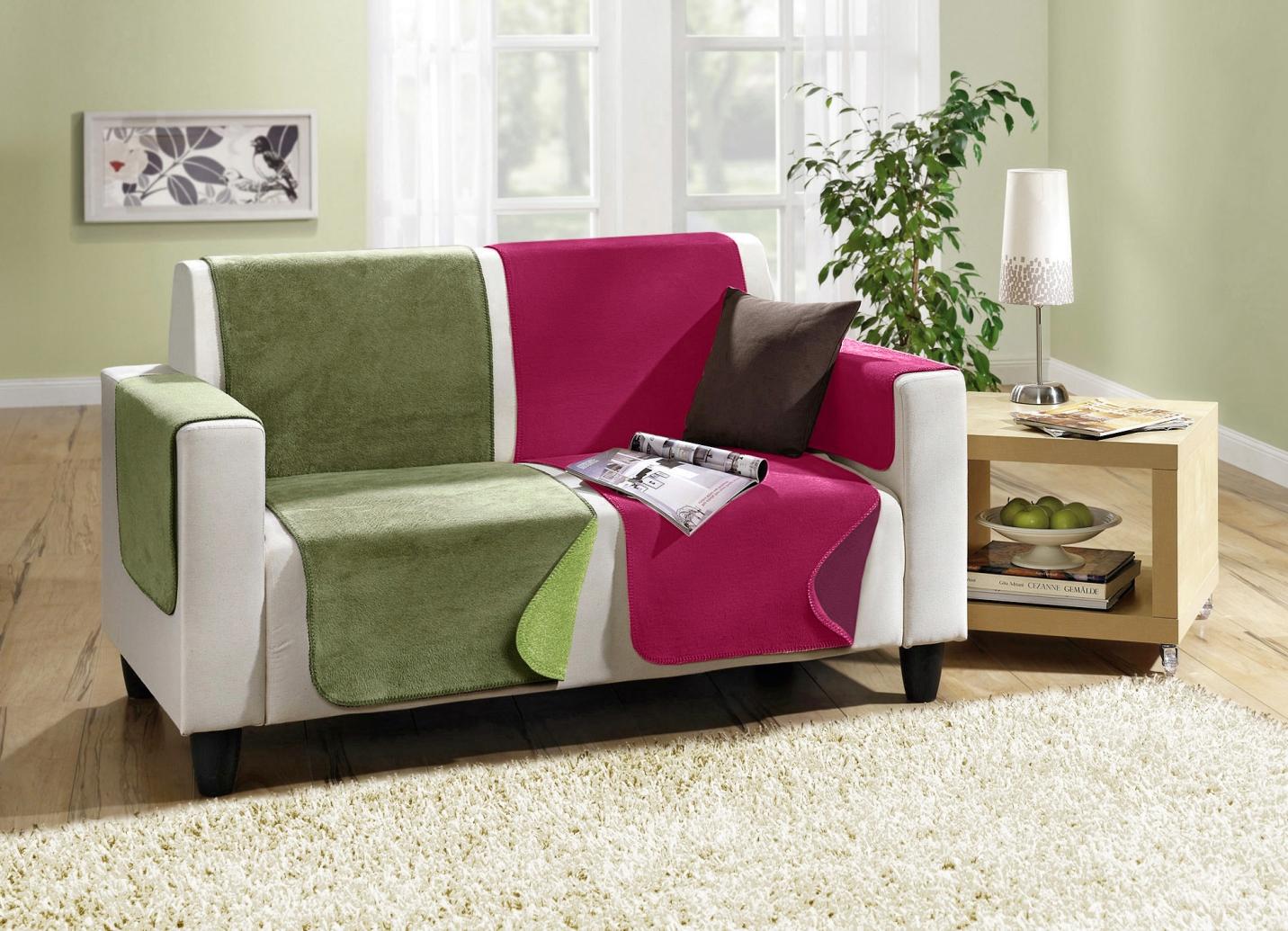 Wende Sessel Couch und Armlehnenschoner Sessel