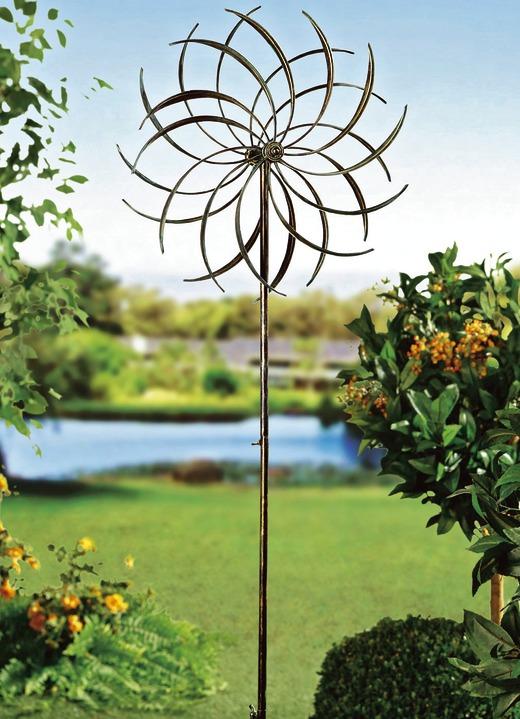 Windrad Blume Gartendekoration Brigitte Hachenburg