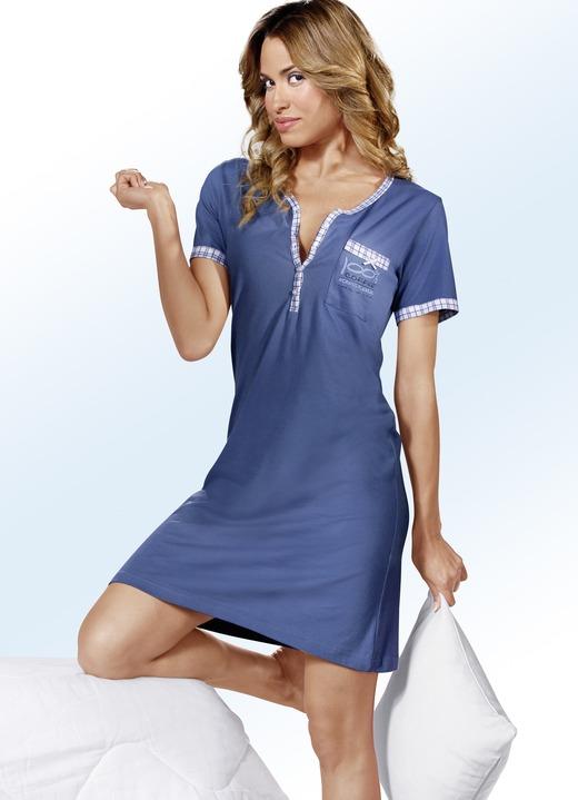 new style 7428e 68189 Zweierpack Nachthemden, Kurzarm mit Knopfleiste