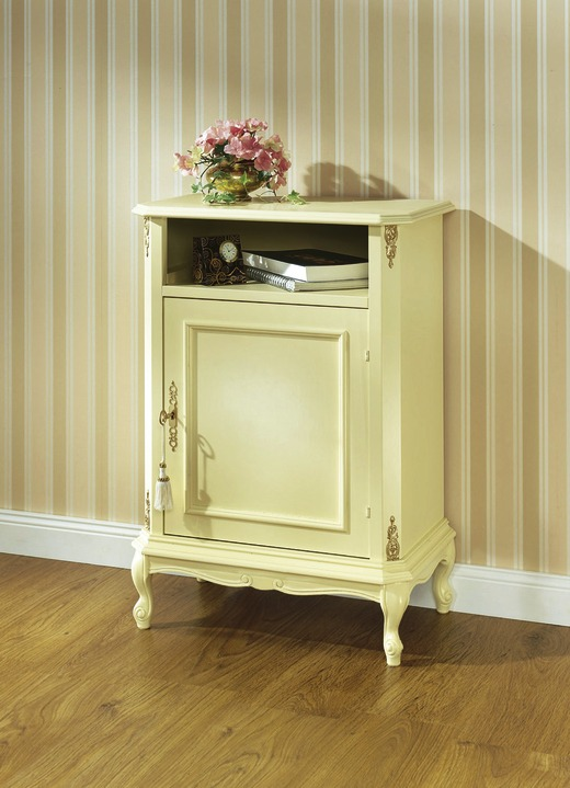 Sideboards & Kommoden - Kommode, 1-türig, in Farbe CREME-GOLD