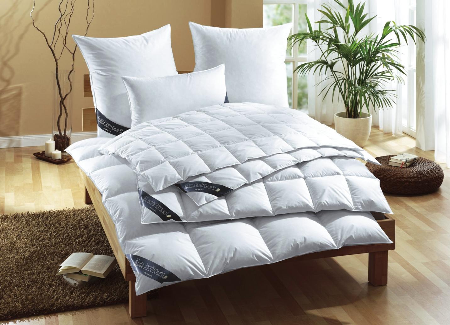 daunendecke in 3 w rmestufen bettwaren brigitte hachenburg. Black Bedroom Furniture Sets. Home Design Ideas