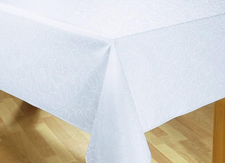 jacquard damast tischdecke in verschiedenen farben tischdecken brigitte hachenburg. Black Bedroom Furniture Sets. Home Design Ideas