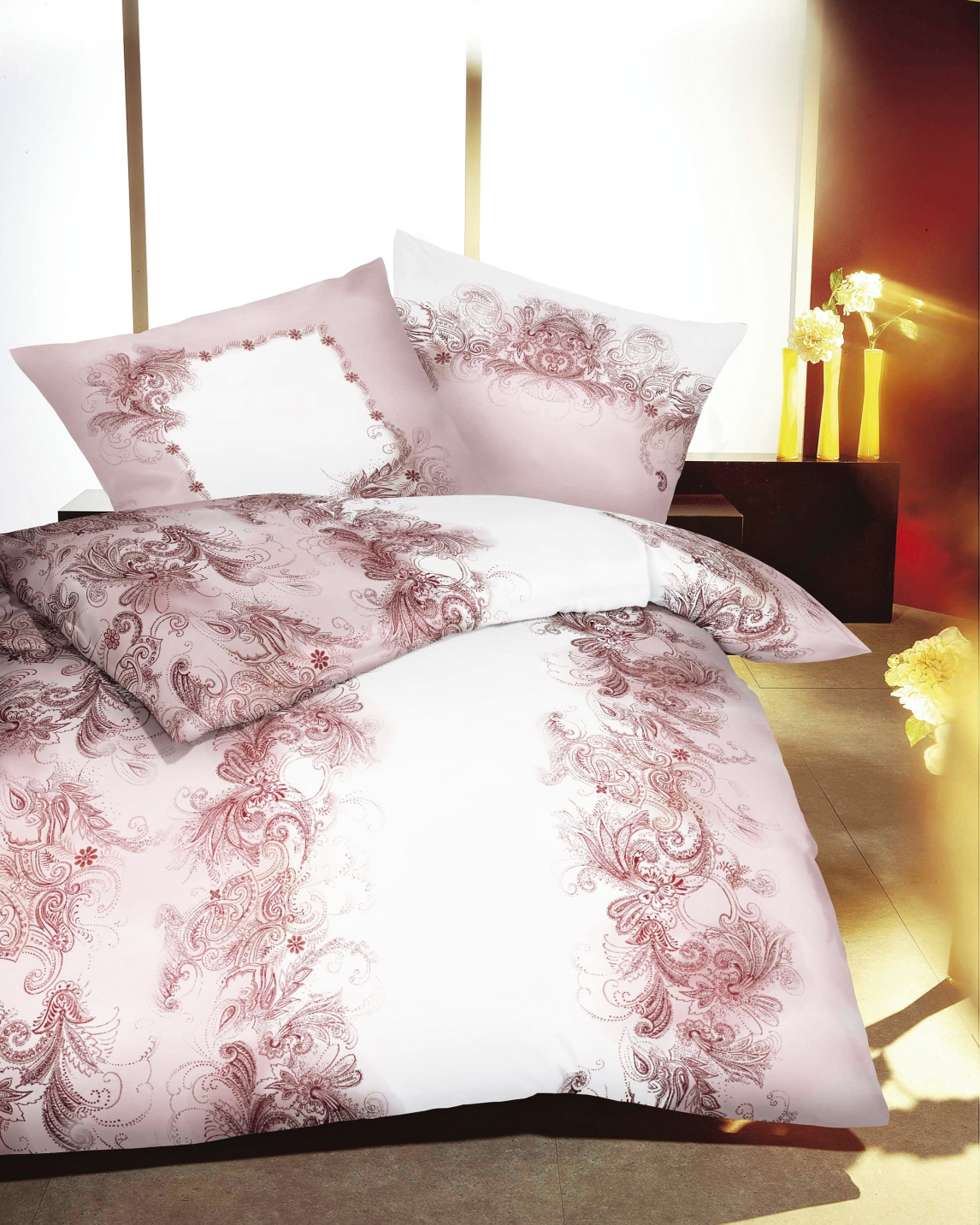 bettw sche garnitur in verschiedenen ausf hrungen bettw sche. Black Bedroom Furniture Sets. Home Design Ideas