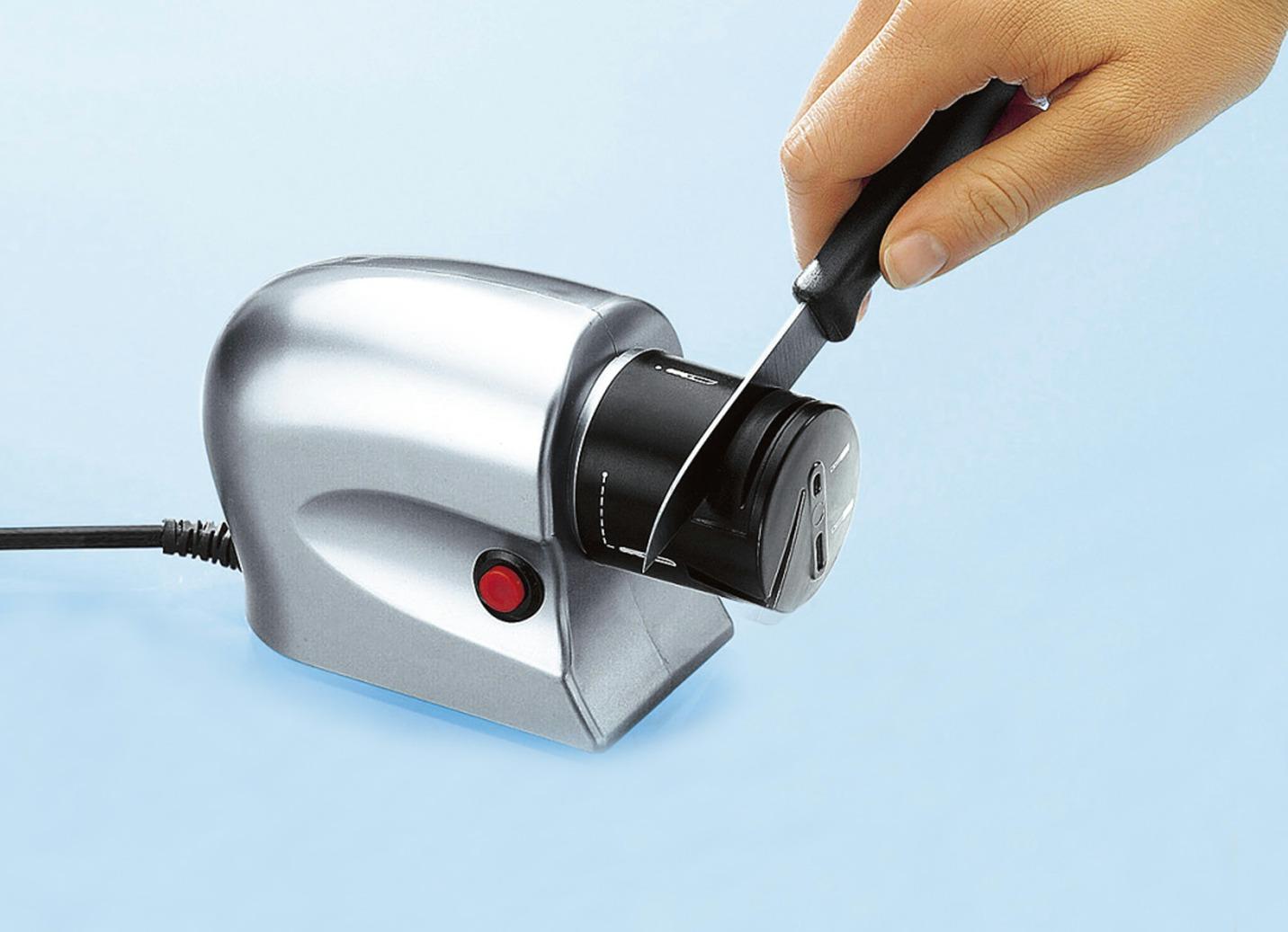 elektrischer messersch rfer elektrische k chenger te brigitte hachenburg. Black Bedroom Furniture Sets. Home Design Ideas