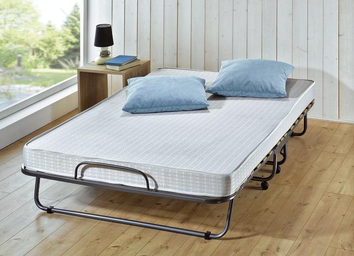 Betten   Gästebett In Verschiedenen Ausführungen, In Farbe ANTHRAZIT GRAU,  In Ausführung Breite
