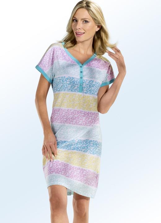 hot sale online bf44b 5d244 Nachthemd, Kurzarm mit Knopfleiste