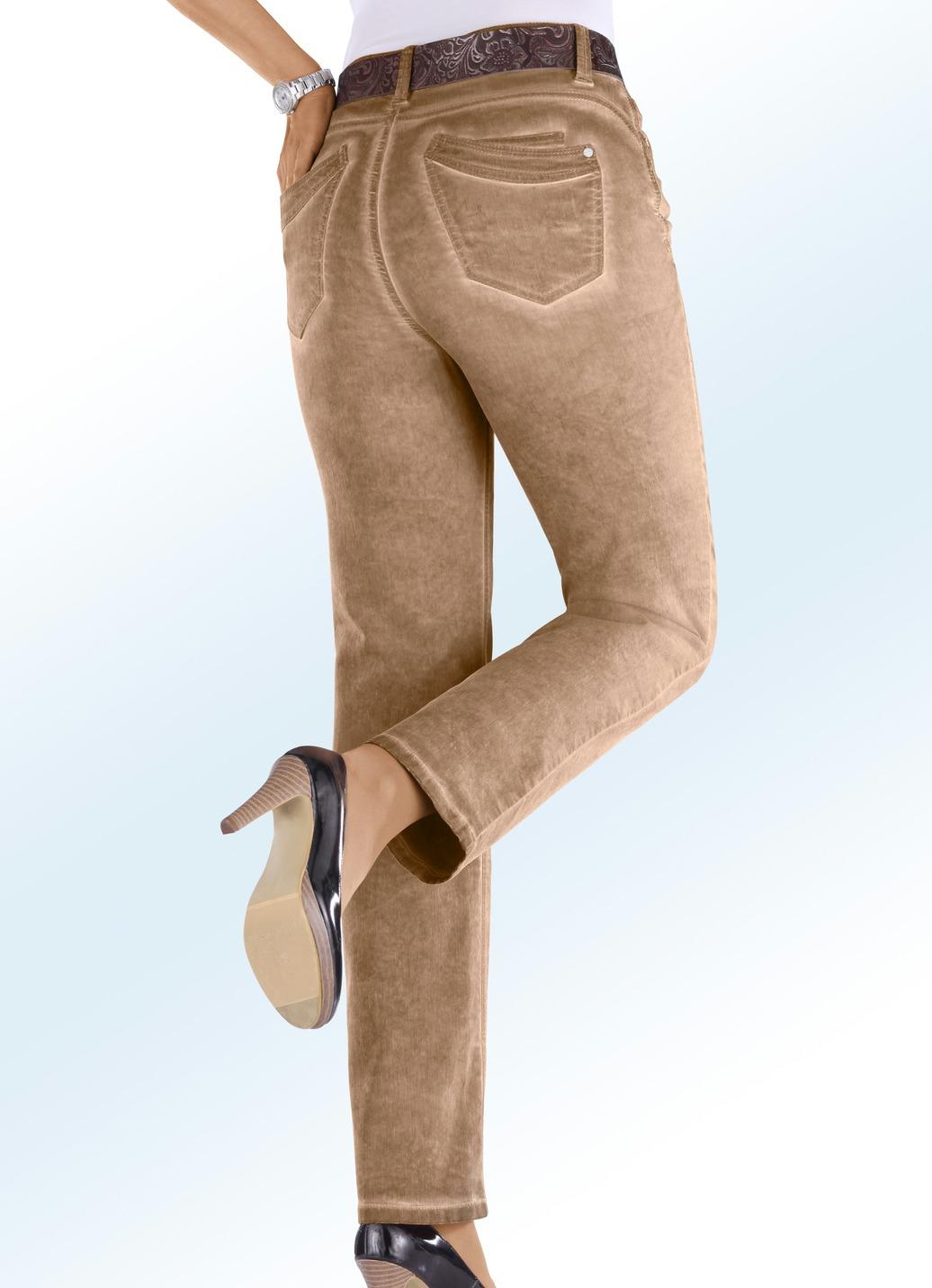 Trendige jeans in 8 farben damen brigitte hachenburg for Trendige wohnaccessoires