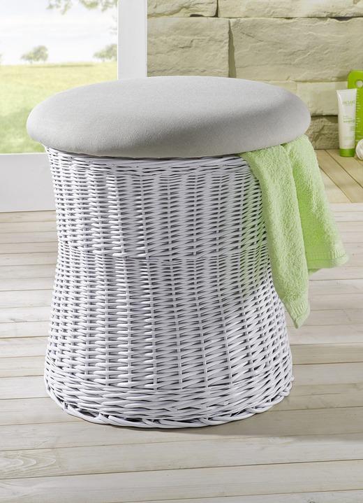 w schesitzhocker aus weidenholz landhausm bel brigitte hachenburg. Black Bedroom Furniture Sets. Home Design Ideas