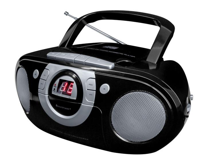 cd radio mit kassette in verschiedenen farben. Black Bedroom Furniture Sets. Home Design Ideas