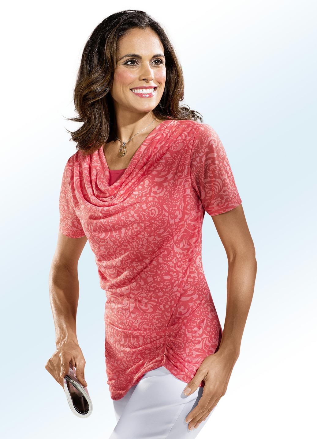 Shirt mit wasserfall ausschnitt damen brigitte hachenburg for Brigitte hachenburg de