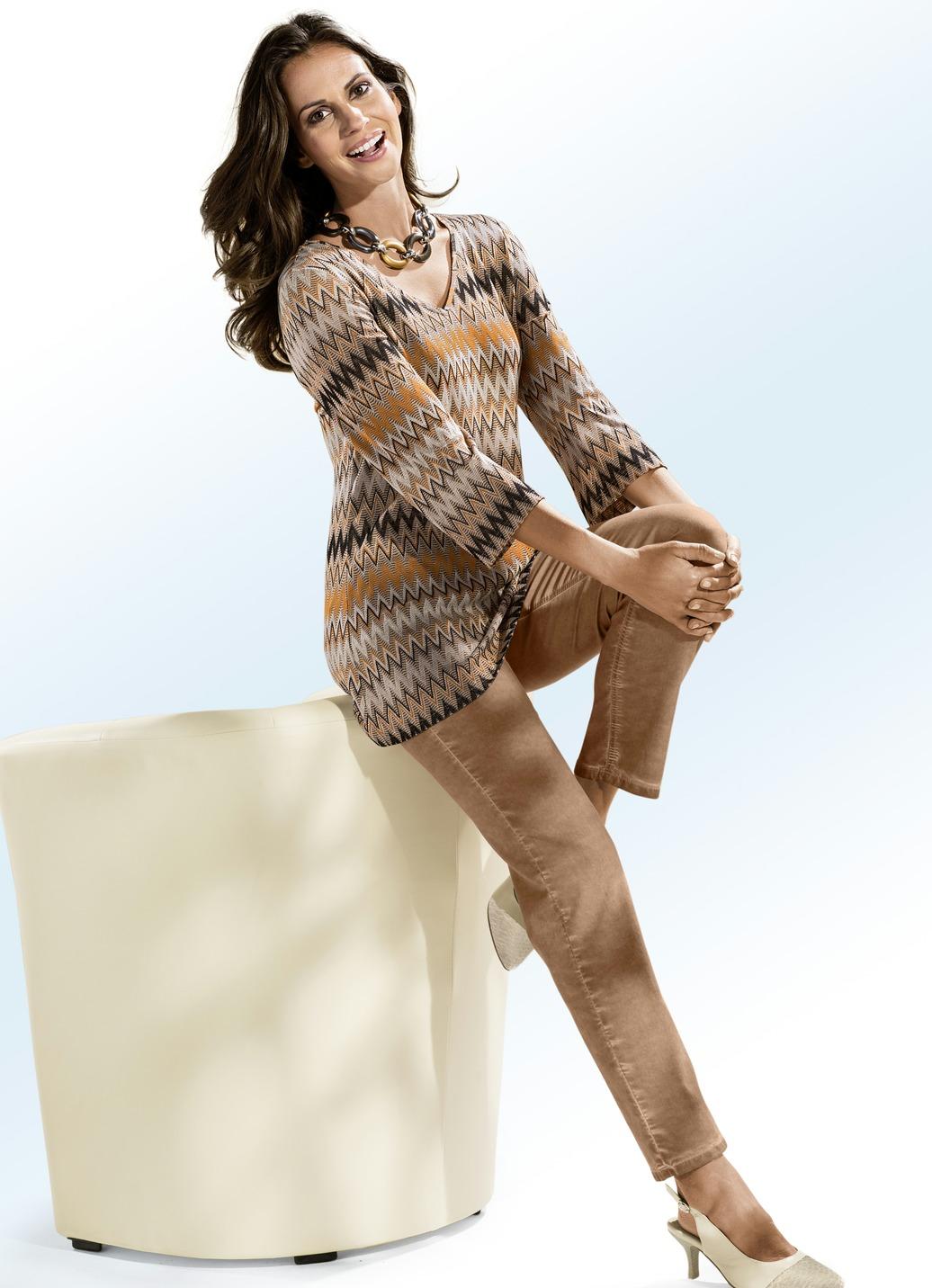 Trendige jeans in 7 farben damen brigitte hachenburg for Brigitte hachenburg mode