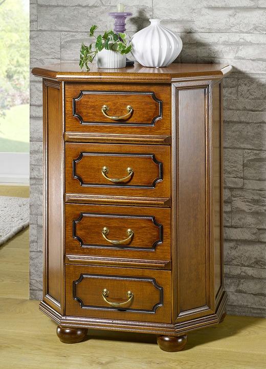 schubkastenkommode mit detailreichen schnitzereien wohnzimmer brigitte hachenburg. Black Bedroom Furniture Sets. Home Design Ideas
