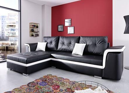 21b85716a61fe3 Boxspring-Polsterecke in verschiedenen Farben - Wohnzimmer ...