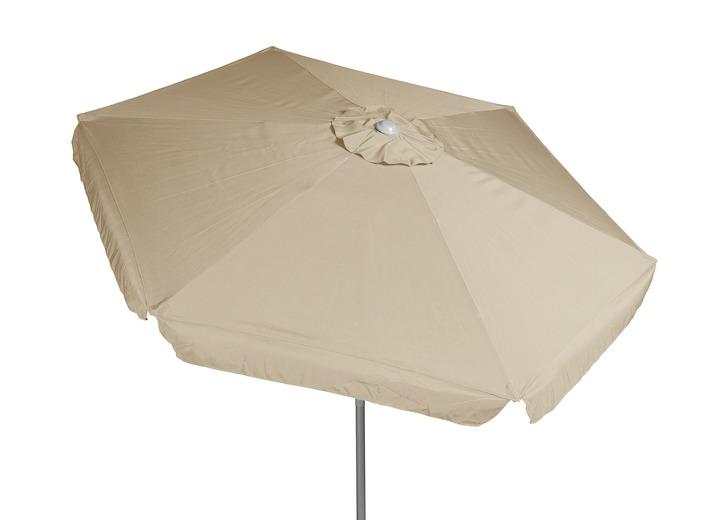 Sonnenschirm Mit Kurbel In Verschiedenen Farben Sichtschutz Und