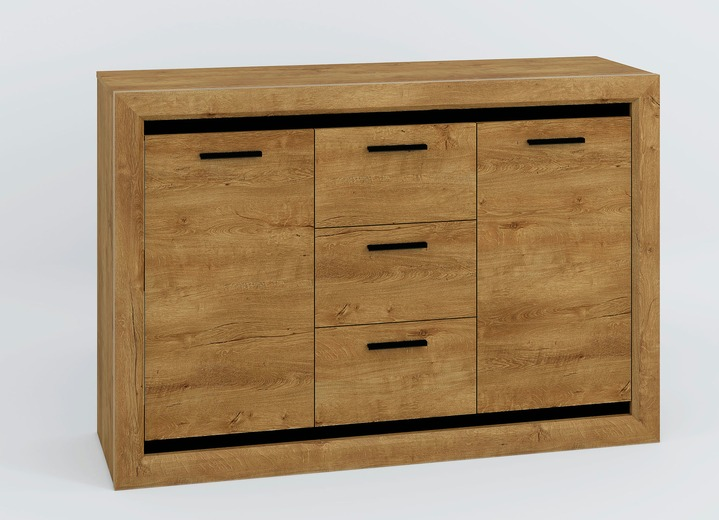 kommode mit 2 t ren wohnzimmer brigitte hachenburg. Black Bedroom Furniture Sets. Home Design Ideas
