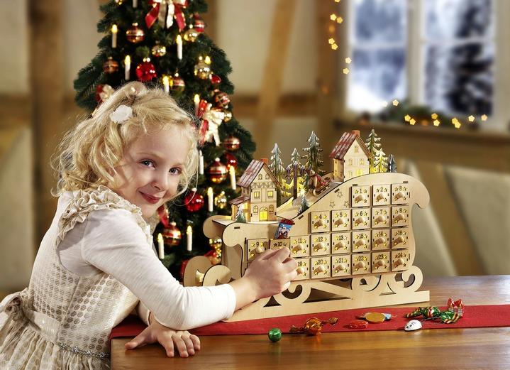 schlitten adventskalender adventskalender brigitte hachenburg. Black Bedroom Furniture Sets. Home Design Ideas