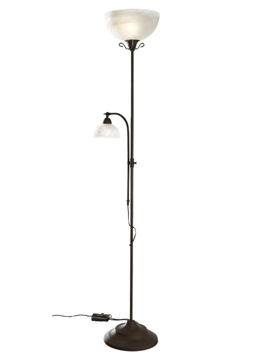deckenfluter mit leselampe lampen leuchten brigitte hachenburg. Black Bedroom Furniture Sets. Home Design Ideas