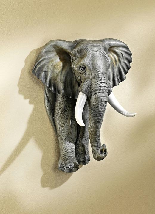 Wanddekoration elefant bilder brigitte hachenburg - Wanddekoration bilder ...
