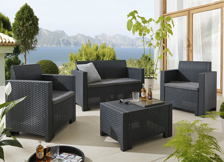 Möbel Lounge Set Nebraska In Verschiedenen Farben Gartenmöbel