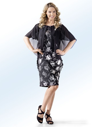 Party-Kleid in 2-in-1-Optik von KLAUS MODELLE