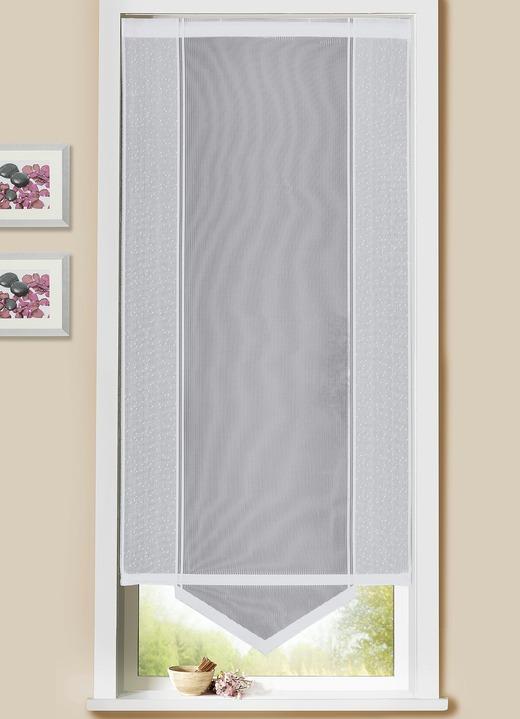 schiebegardine uni dreiecksabschluss verschiedene farben gardinen brigitte hachenburg. Black Bedroom Furniture Sets. Home Design Ideas