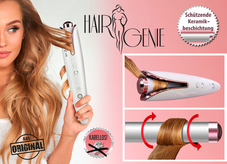 Hair Curler, Lockenstab mit digitalem Display