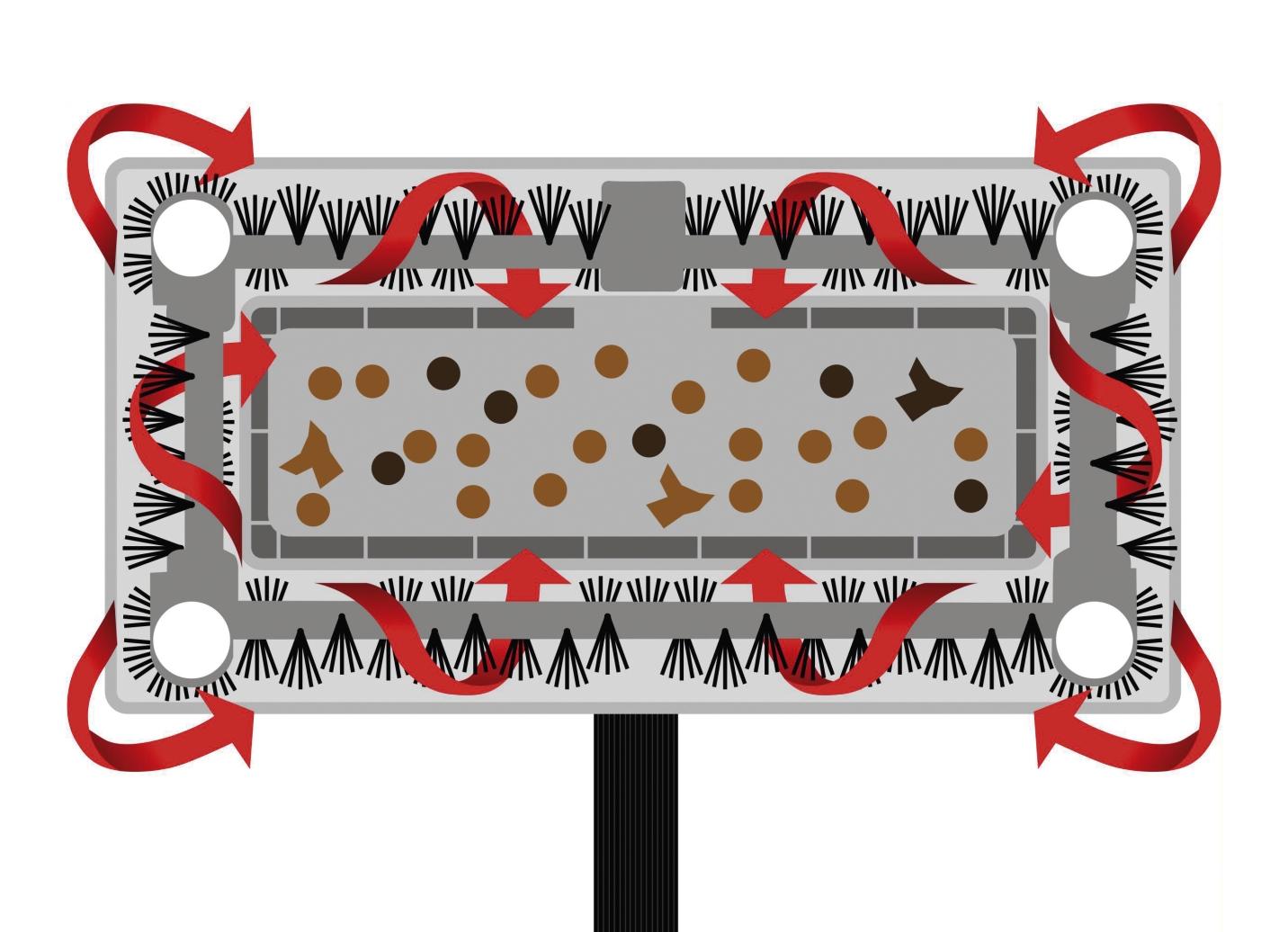 swivel sweeper kabelloser akkubesen tv werbung brigitte hachenburg. Black Bedroom Furniture Sets. Home Design Ideas