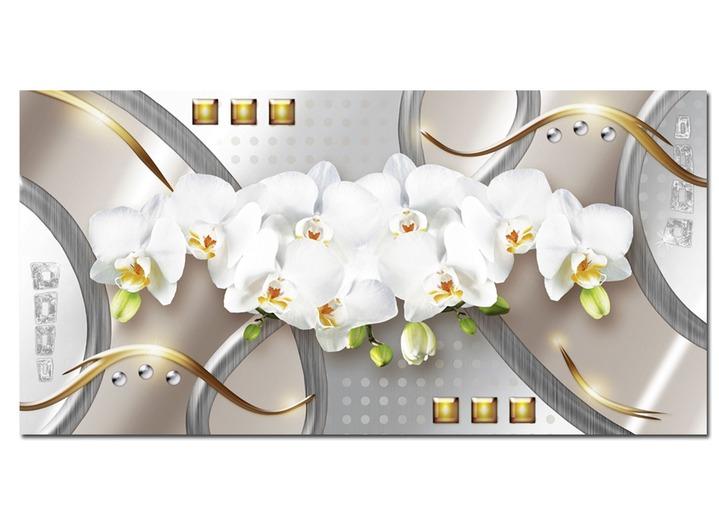 bild wei e orchideen von der k nstlerin jule bilder brigitte hachenburg. Black Bedroom Furniture Sets. Home Design Ideas