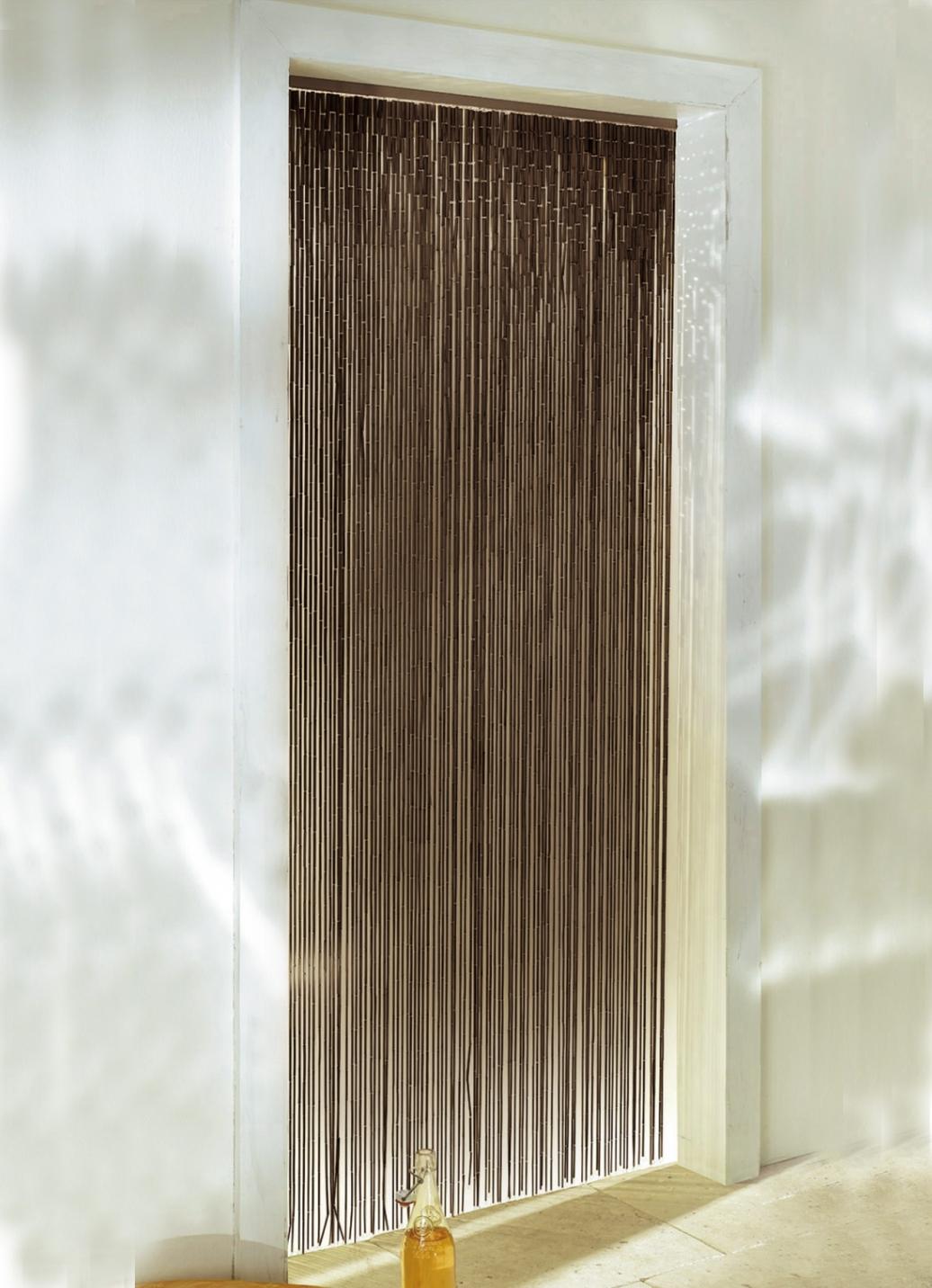 bambus vorhang in 2 farben sichtschutz und sonnenschutz. Black Bedroom Furniture Sets. Home Design Ideas