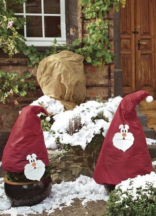 pflanzenhaube verschiedene ausf hrungen winterlicher garten brigitte hachenburg. Black Bedroom Furniture Sets. Home Design Ideas