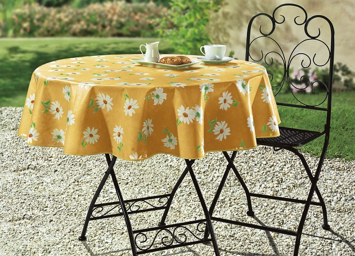 Gartentischdecke Mit Paspel-Einfassung