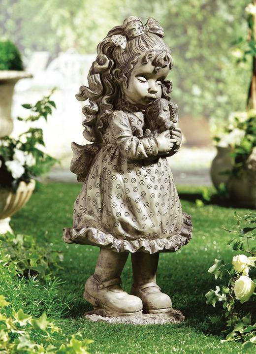 Sarah Kay Deko Figur Mit Hund Gartendekoration Brigitte Hachenburg