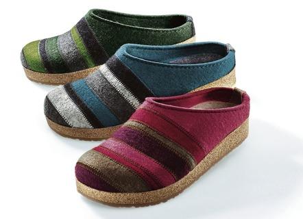 haflinger pantoffel in 3 farben schuhe einlagen. Black Bedroom Furniture Sets. Home Design Ideas