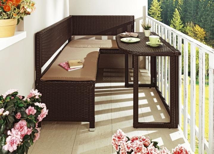 Balkonmöbel-Serie verschiedene Ausführungen - Gartenmöbel  Brigitte Hachenburg