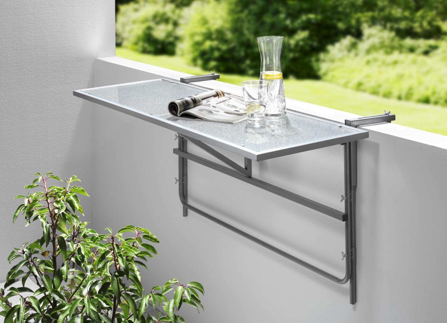balkon h ngetisch in verschiedenen ausf hrungen. Black Bedroom Furniture Sets. Home Design Ideas