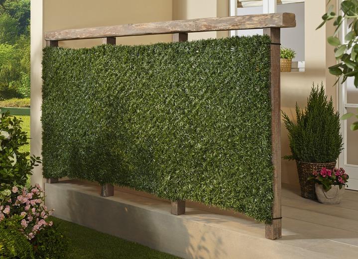 sichtschutz und sonnenschutz sichtschutzhecke in farbe grun ansicht 1