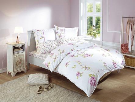bettw sche programm mit sch nen rosen motiven bettw sche brigitte hachenburg. Black Bedroom Furniture Sets. Home Design Ideas
