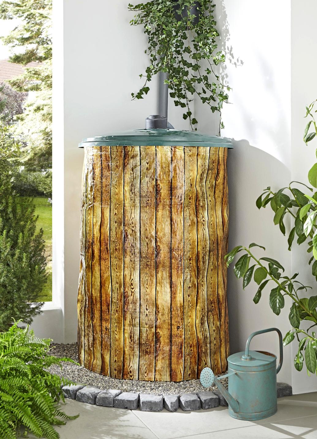 Regentonnen-Hülle - Gartenpflege | Brigitte Hachenburg