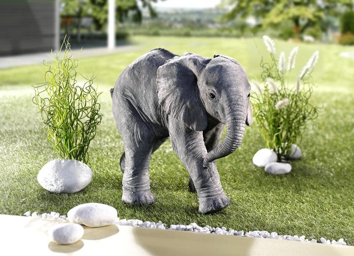 figur elefant gartendekoration brigitte hachenburg. Black Bedroom Furniture Sets. Home Design Ideas