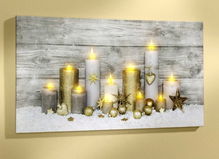 led bild mit batteriebetriebener beleuchtung weihnachten brigitte hachenburg. Black Bedroom Furniture Sets. Home Design Ideas
