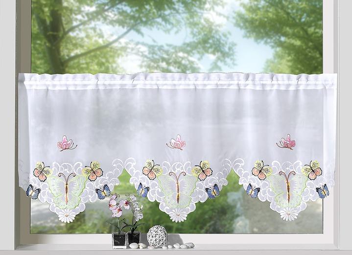 kurzstore schmetterling gardinen brigitte hachenburg. Black Bedroom Furniture Sets. Home Design Ideas