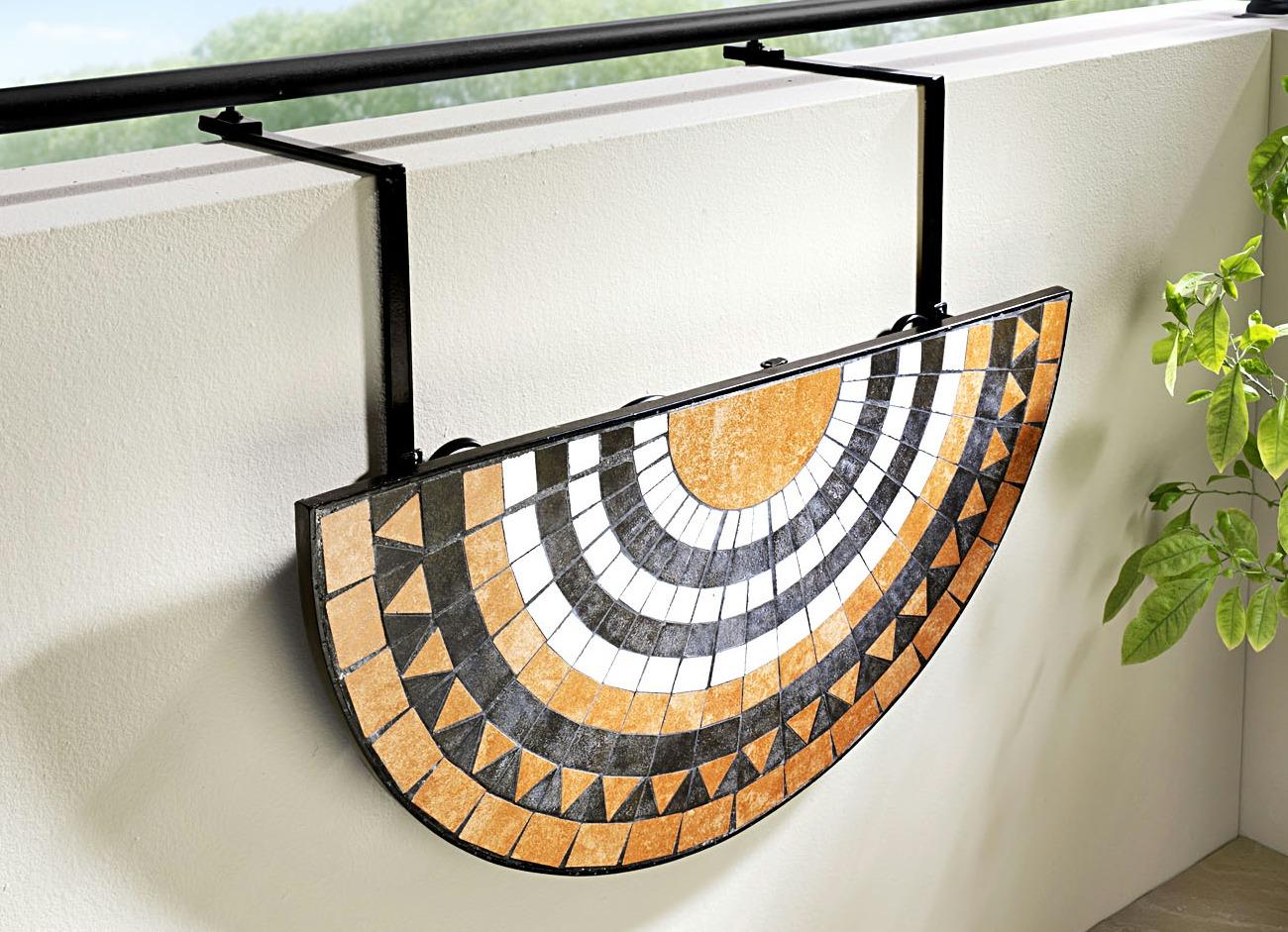 balkontisch zum einh ngen gartenm bel brigitte hachenburg. Black Bedroom Furniture Sets. Home Design Ideas