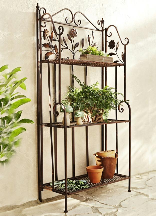 Eisenregal Garten mit tolle ideen für ihr haus design ideen